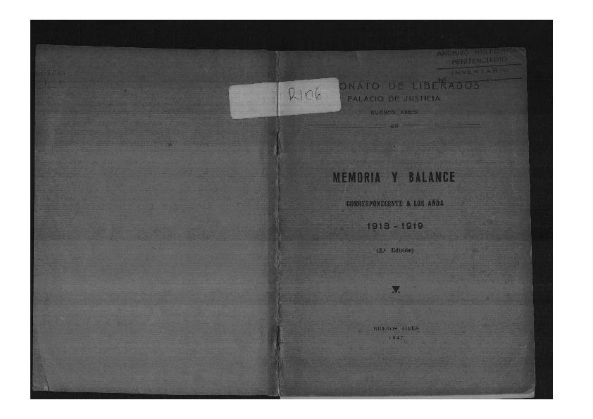 http://archivos-desarrollopolcrim.bibliotecadigital.gob.ar/ArchivoPenitenciario2/patronato-liberados_memoria-balance-1918-1919_1947.pdf