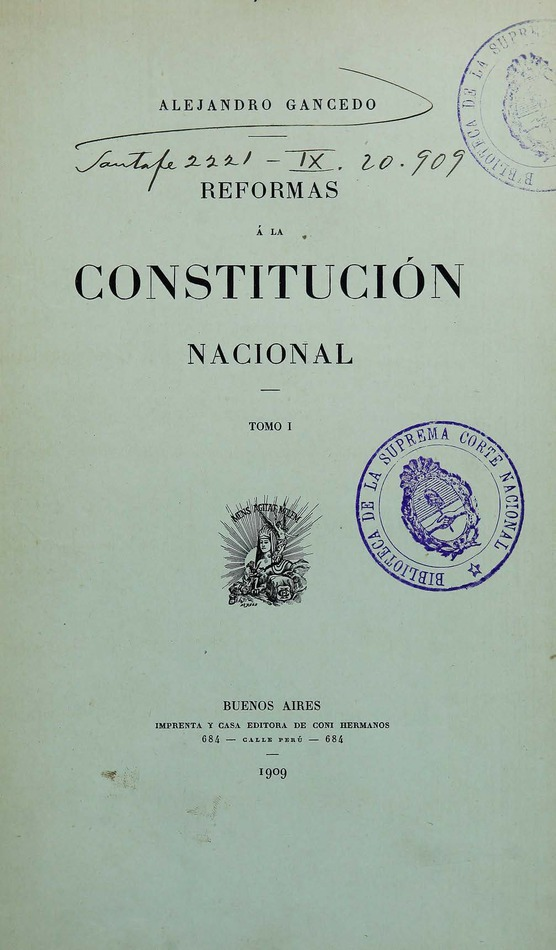 Reformas a la Constitución Nacional