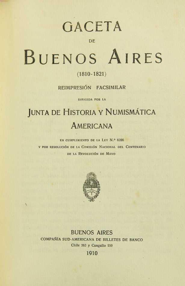 Gaceta de Buenos Aires