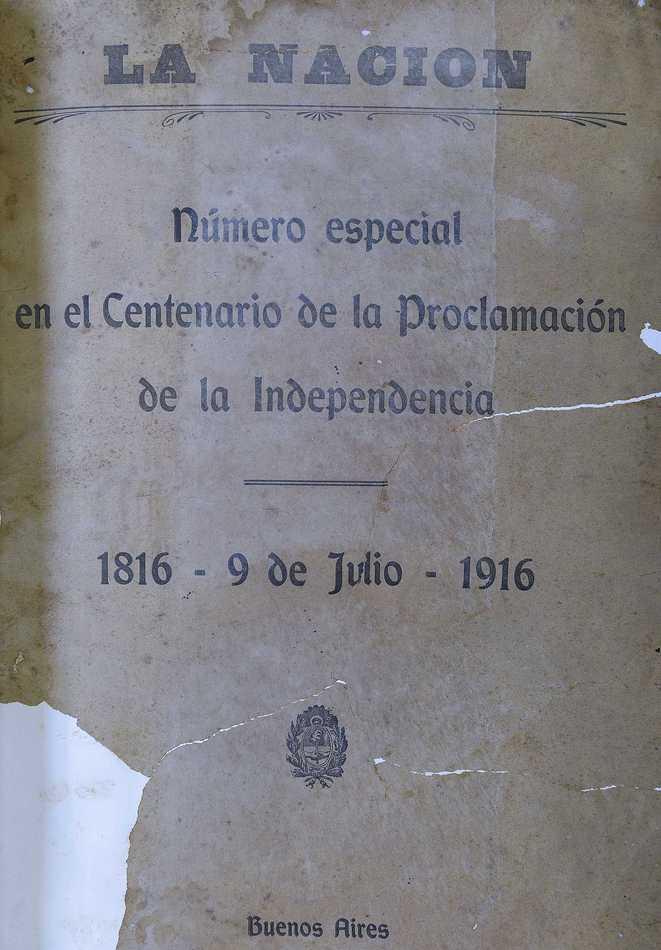 Número especial en el Centenario de la Declaración de la Independencia (Selección)