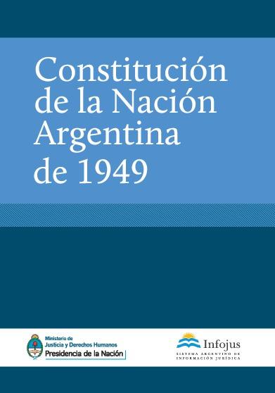Constitución de la Nación Argentina de 1949